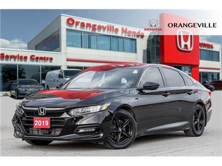 2019 Honda Accord Sport 2.0T (Stk: U3489A) in Orangeville - Image 1 of 21
