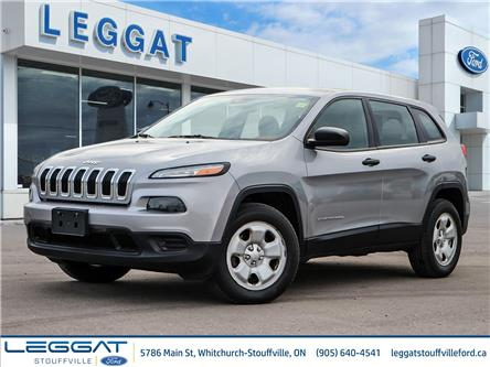 2015 Jeep Cherokee Sport (Stk: U5487) in Stouffville - Image 1 of 26