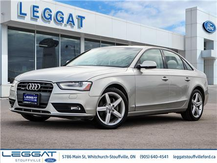 2013 Audi A4 2.0T Premium Plus (Stk: U5489) in Stouffville - Image 1 of 30