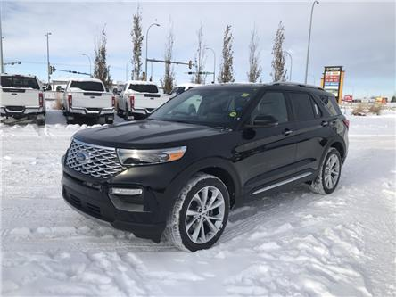 2021 Ford Explorer Platinum (Stk: MEX004) in Fort Saskatchewan - Image 1 of 23