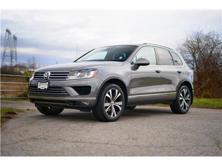 2017 Volkswagen Touareg 3.6L Wolfsburg Edition (Stk: VW1201) in Vancouver - Image 1 of 21