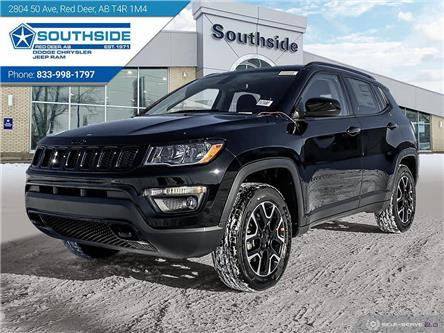 2021 Jeep Compass Sport (Stk: JC2102) in Red Deer - Image 1 of 25