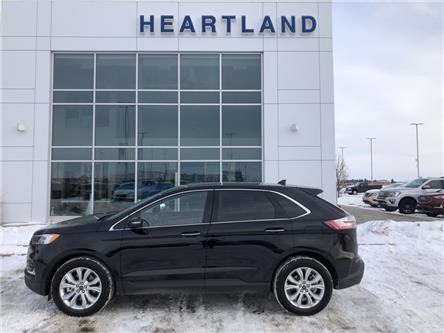 2020 Ford Edge Titanium (Stk: R10878) in Fort Saskatchewan - Image 1 of 30