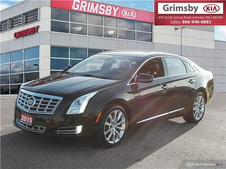 2015 Cadillac XTS AWD, Sunroof, Clean Carfax, Leather, Navi.... (Stk: u1896a) in Grimsby - Image 1 of 25