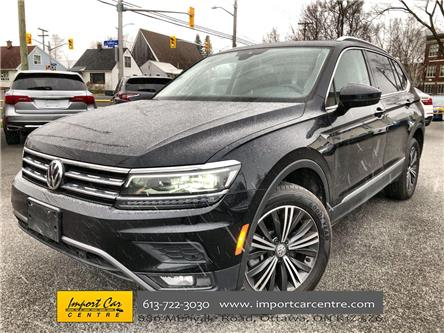 2019 Volkswagen Tiguan Highline (Stk: 136670) in Ottawa - Image 1 of 26