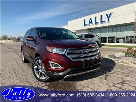 2017 Ford Edge Titanium (Stk: 6801A) in Tilbury - Image 1 of 19