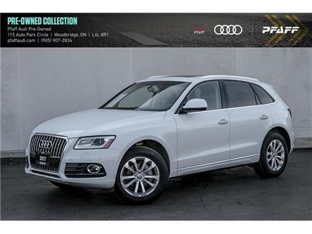 2017 Audi Q5 2.0T Progressiv (Stk: C7978) in Woodbridge - Image 1 of 21