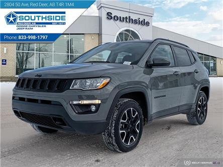 2021 Jeep Compass Sport (Stk: JC2103) in Red Deer - Image 1 of 25