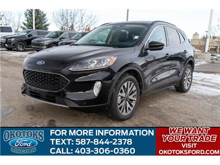 2020 Ford Escape Titanium (Stk: LK-314) in Okotoks - Image 1 of 5