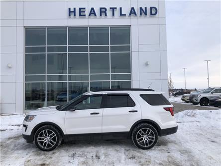 2018 Ford Explorer Sport (Stk: LRN039A) in Fort Saskatchewan - Image 1 of 30