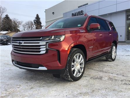 2021 Chevrolet Tahoe High Country (Stk: 221745) in Brooks - Image 1 of 24