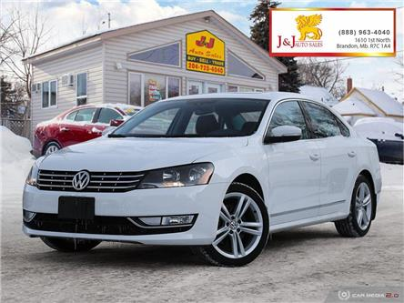 2014 Volkswagen Passat 2.0 TDI Highline (Stk: JB19127) in Brandon - Image 1 of 27