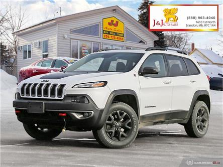 2015 Jeep Cherokee Trailhawk (Stk: J2083) in Brandon - Image 1 of 27