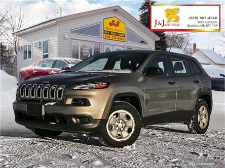 2016 Jeep Cherokee Sport (Stk: J2081) in Brandon - Image 1 of 27