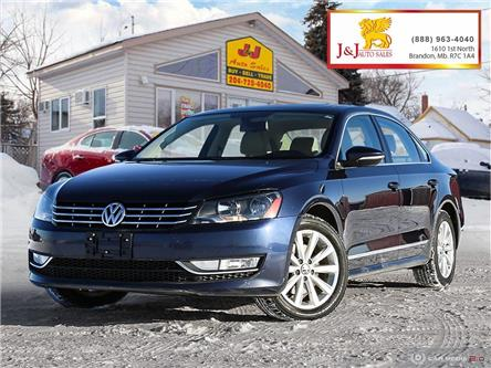 2012 Volkswagen Passat 2.0 TDI Highline (Stk: JB19133) in Brandon - Image 1 of 27