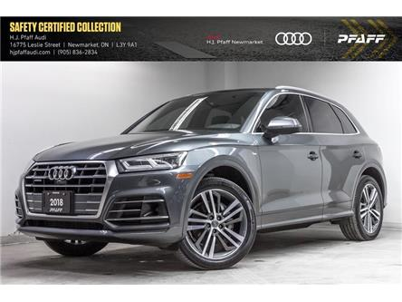 2018 Audi Q5 2.0T Technik (Stk: A13561A) in Newmarket - Image 1 of 22