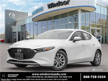 2021 Mazda Mazda3 Sport GX (Stk: M36123) in Windsor - Image 1 of 23