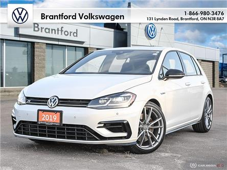 2019 Volkswagen Golf R 2.0 TSI (Stk: P05184) in Brantford - Image 1 of 27