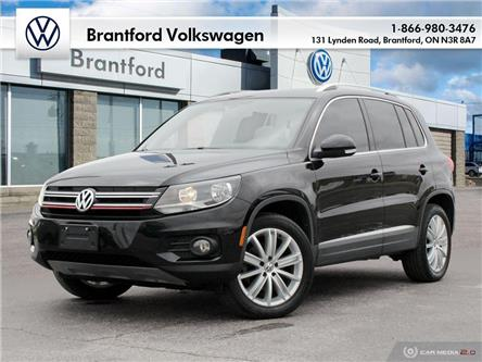 2017 Volkswagen Tiguan Comfortline (Stk: AS20967A) in Brantford - Image 1 of 27