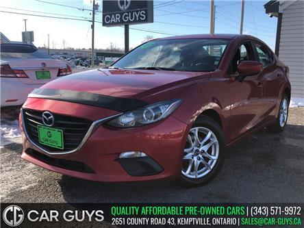 2015 Mazda Mazda3 GS (Stk: CG0128) in Kemptville - Image 1 of 24