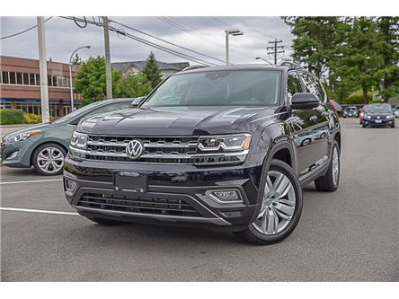 2019 Volkswagen Atlas 3.6 FSI Execline (Stk: VW1215) in Vancouver - Image 1 of 19