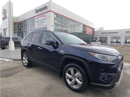 2020 Toyota RAV4 Hybrid Limited (Stk: 9261A) in Calgary - Image 1 of 23