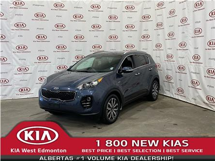 2017 Kia Sportage EX Tech (Stk: 7647) in Edmonton - Image 1 of 25