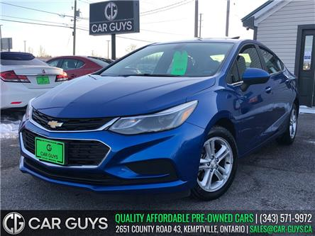2017 Chevrolet Cruze LT Auto (Stk: CG0132) in Kemptville - Image 1 of 29