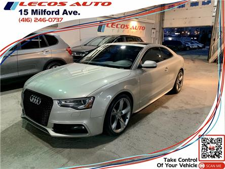 2013 Audi A5 2.0T Premium (Stk: -) in Toronto - Image 1 of 8