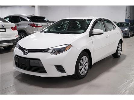 2016 Toyota Corolla LE (Stk: #566065) in Vaughan - Image 1 of 25