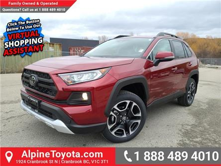 2021 Toyota RAV4 Trail (Stk: W153799) in Cranbrook - Image 1 of 26