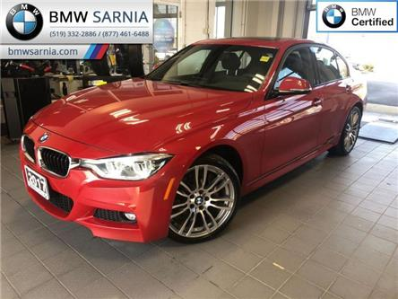 2017 BMW 330i xDrive (Stk: BU776) in Sarnia - Image 1 of 18