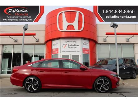 2018 Honda Accord Sport (Stk: U9808) in Sudbury - Image 1 of 33