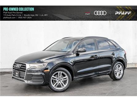 2017 Audi Q3 2.0T Komfort (Stk: T18845A) in Vaughan - Image 1 of 20