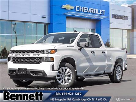 2021 Chevrolet Silverado 1500 Silverado Custom (Stk: D210048) in Cambridge - Image 1 of 23
