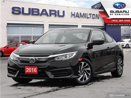 2016 Honda Civic LX (Stk: S8640A) in Hamilton - Image 1 of 27