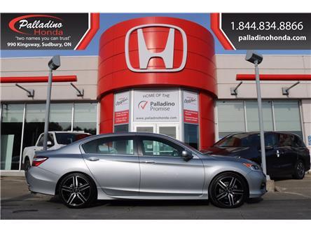 2016 Honda Accord Sport (Stk: 21989A) in Greater Sudbury - Image 1 of 36