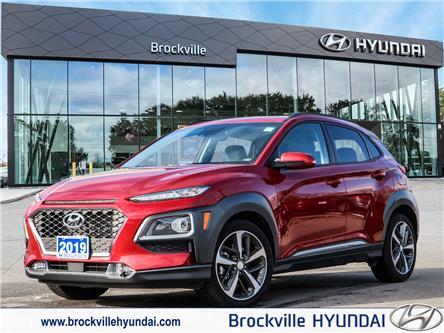 2019 Hyundai Kona 1.6T Ultimate (Stk: R21036A) in Brockville - Image 1 of 30