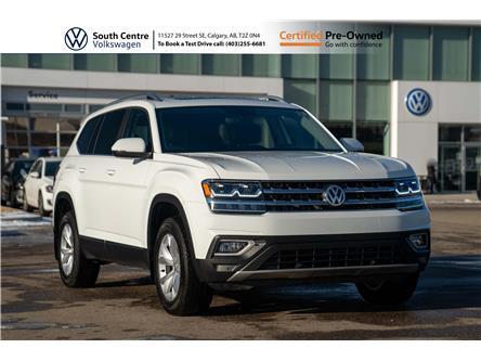 2019 Volkswagen Atlas 3.6 FSI Highline (Stk: 10011A) in Calgary - Image 1 of 46