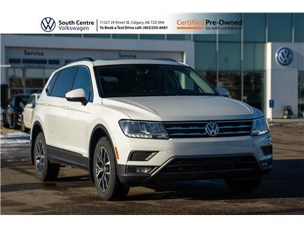 2018 Volkswagen Tiguan Comfortline (Stk: 10034A) in Calgary - Image 1 of 45
