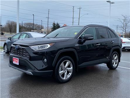 2019 Toyota RAV4 Hybrid Limited (Stk: W5215) in Cobourg - Image 1 of 29