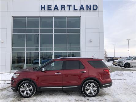 2018 Ford Explorer Platinum (Stk: B10892) in Fort Saskatchewan - Image 1 of 29