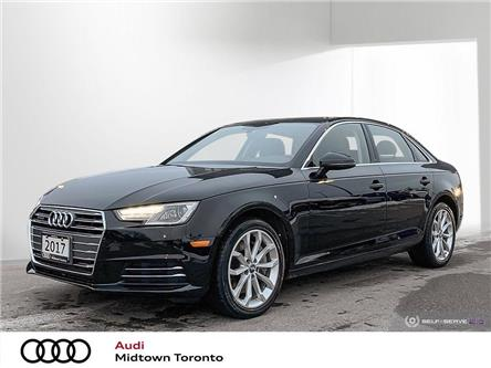 2017 Audi A4 2.0T Progressiv (Stk: P8511) in Toronto - Image 1 of 25