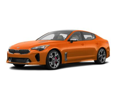 2021 Kia Stinger GT Limited - Neon Orange (Stk: ST21-113) in Victoria - Image 1 of 7