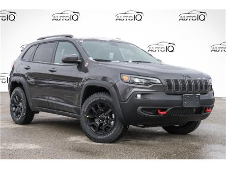 2021 Jeep Cherokee Trailhawk (Stk: 34597) in Barrie - Image 1 of 29