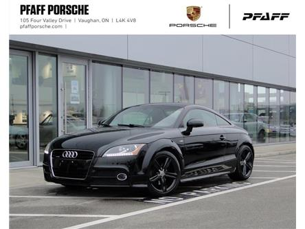 2013 Audi TT 2.0T Prem S tronic qtro Coupe (Stk: U9082A) in Vaughan - Image 1 of 19