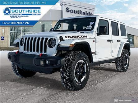 2021 Jeep Wrangler Unlimited Rubicon (Stk: WR2105) in Red Deer - Image 1 of 25