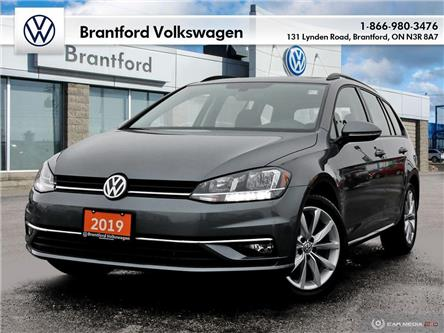 2019 Volkswagen Golf SportWagen 1.4 TSI Highline (Stk: P17185) in Brantford - Image 1 of 26