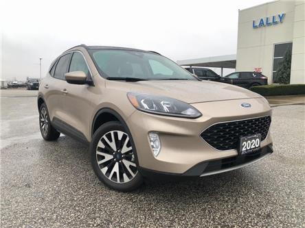 2020 Ford Escape SEL (Stk: S10576R) in Leamington - Image 1 of 27