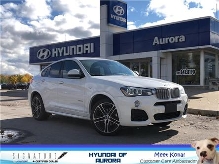 2015 BMW X4 xDrive35i (Stk: 223151) in Aurora - Image 1 of 24